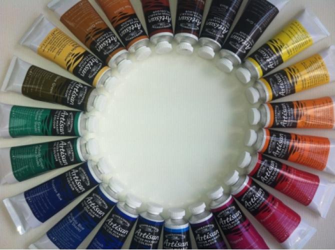 Легендарные водорастворимые масляные краски Artisan от Winsor&Newton