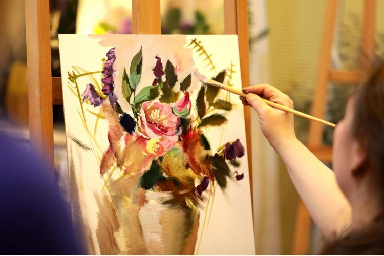 Фактура масляной живописи