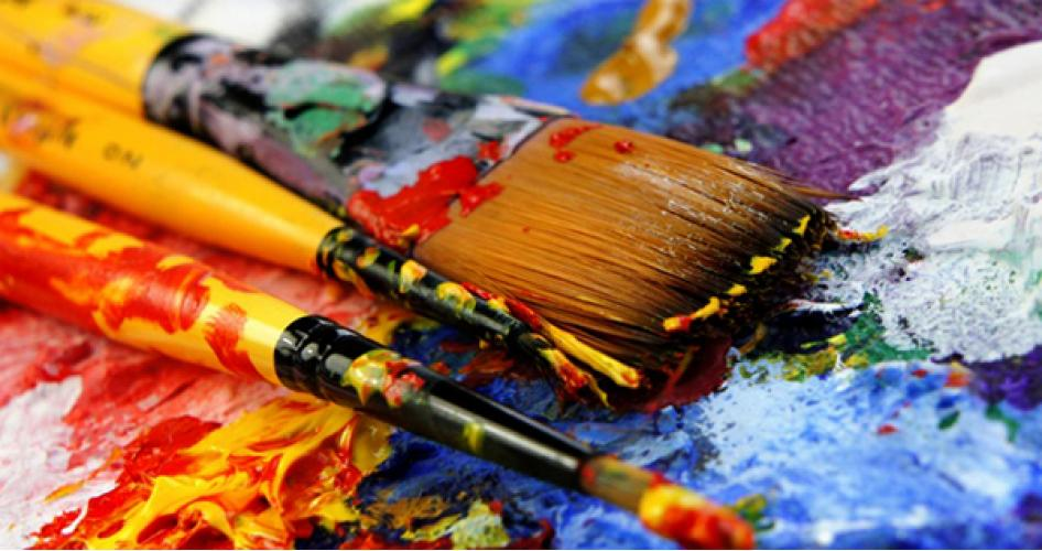 Основные свойства художественных красок