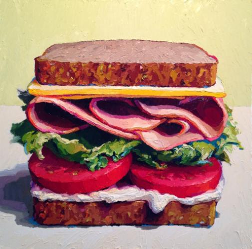 Как нарисовать бутерброд маслом: пошаговый мастер-класс от Карен Эпплтон