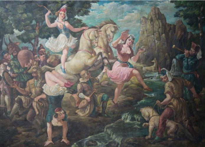 Картина грузинского художника выставлена на eBay за 120 тысяч долларов