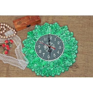 """Авторские часы для дома """"Прикосновение природы"""""""
