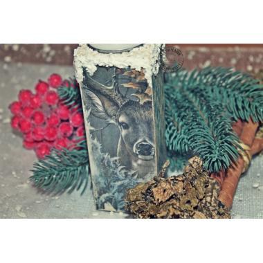 Подсвечник Рождественский олень