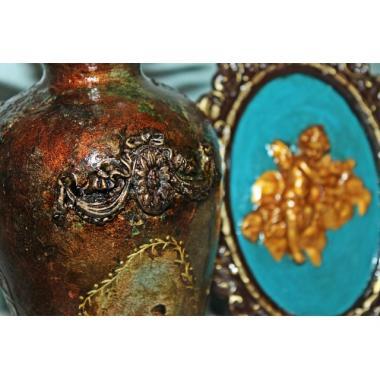 Настольная ваза Антик