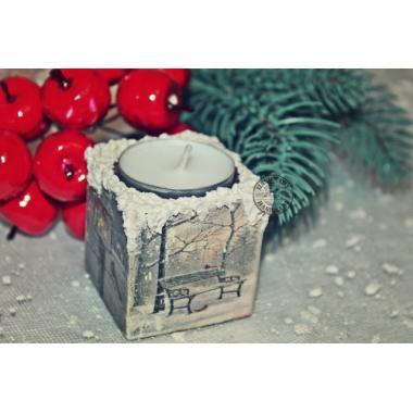 Подсвечник новогодний-1