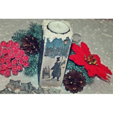 Подсвечник Рождественское тепло