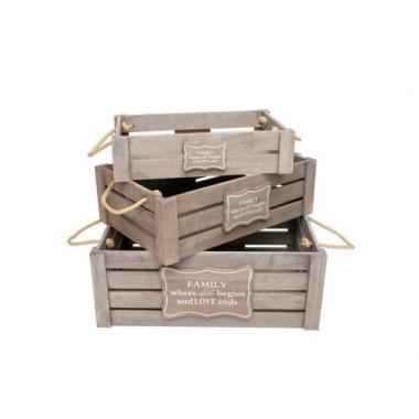 Деревянный ящик №16