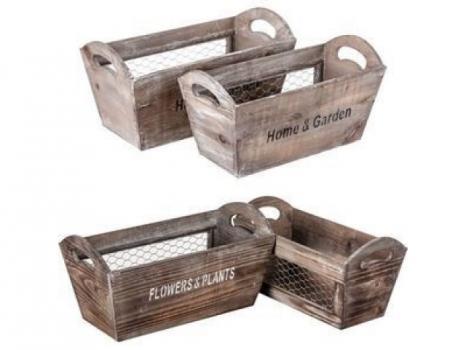 Деревянный ящик №15