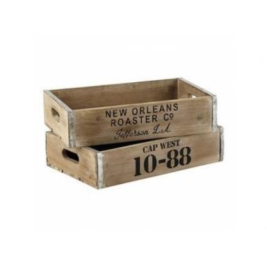 Деревянный ящик №10