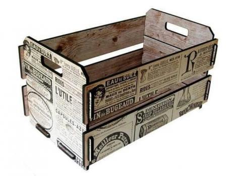 Деревянный ящик №4