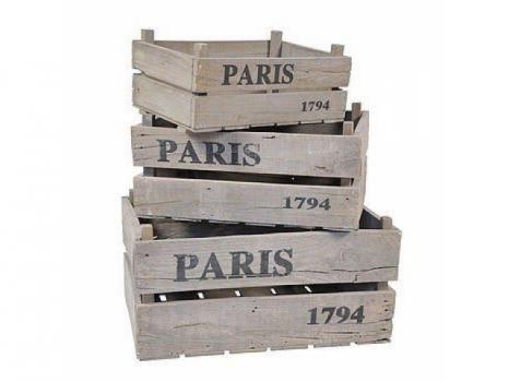 Деревянный ящик №3