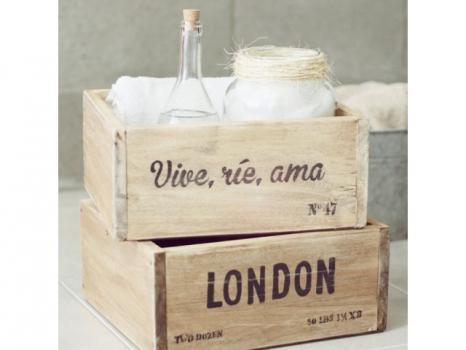 Деревянный ящик №2