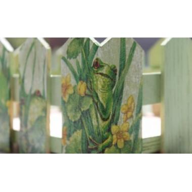 Подставка для цветов «Заборчик»