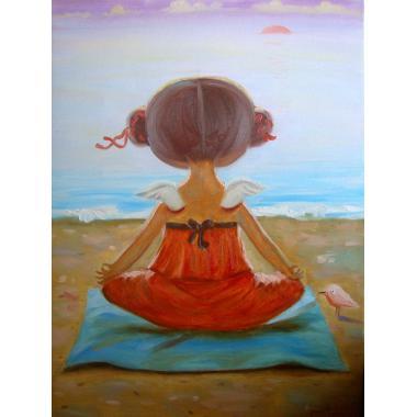 Гапчинская Йога на пляже