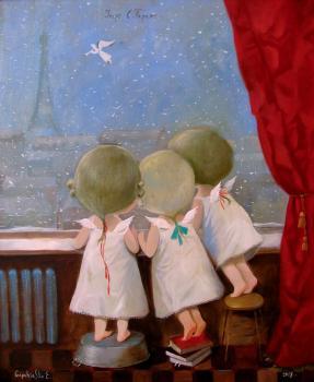 Купить картину Гапчинской Утро в Париже