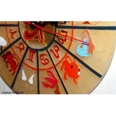 """Витражные часы """"Zodiak"""""""