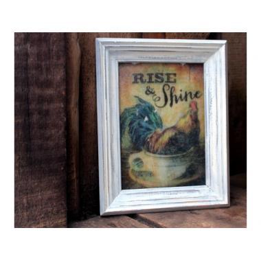 "Картина на стекле ""Rise & Shine"""