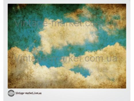 Фоновая картинка для декупажа Небесная